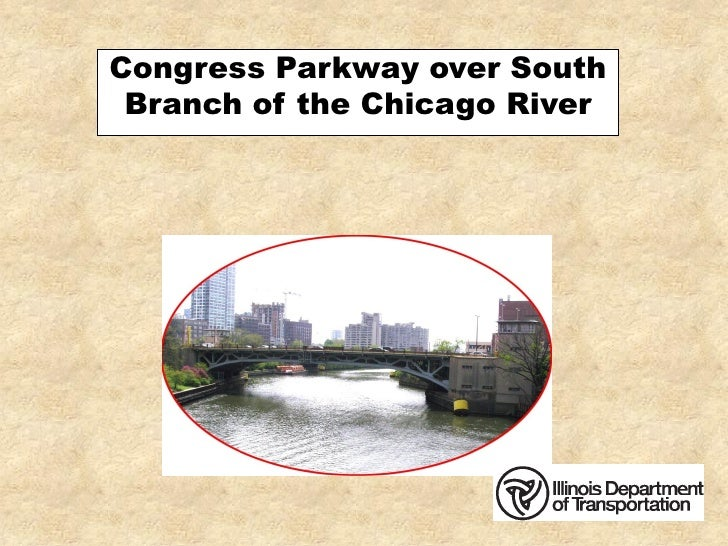Congress Parkway over South  Branch of the Chicago River