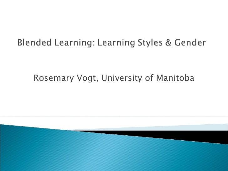 Rosemary Vogt, University of Manitoba
