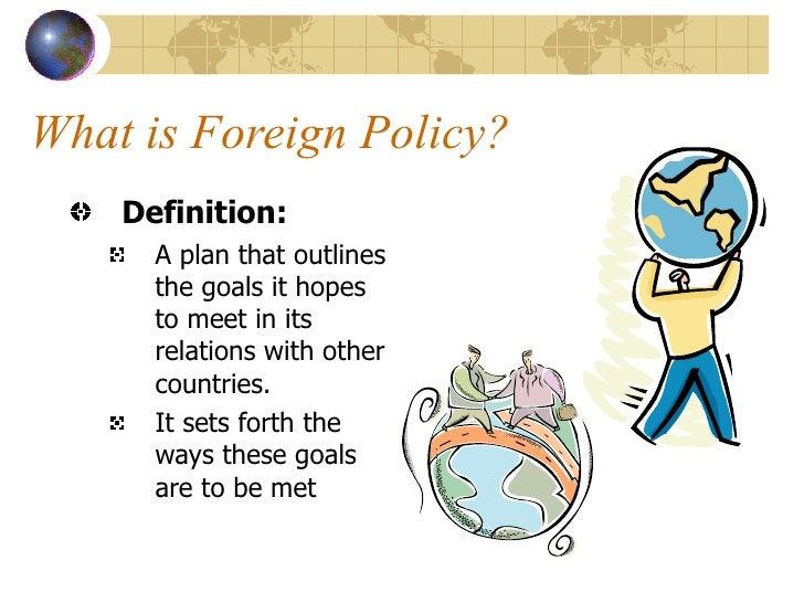 Nice Congress U0026 U.S. Foreign Policy; 2.