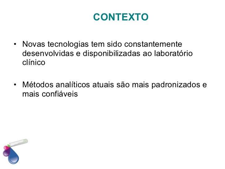 Validação de métodos analíticos Slide 3