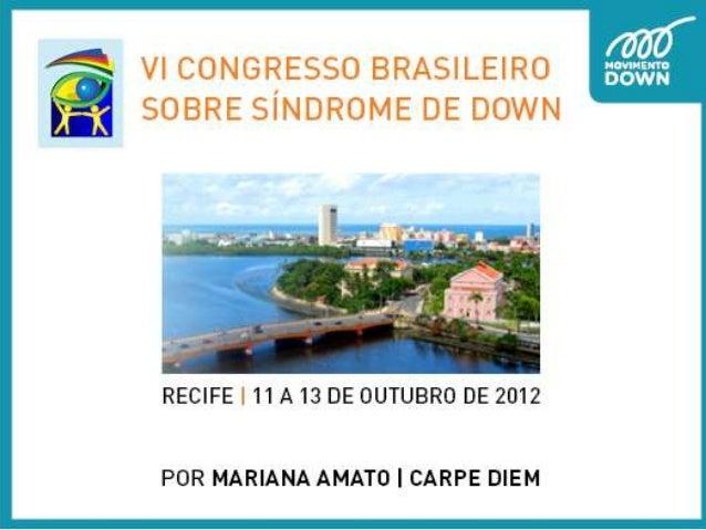 VI Congresso Brasileiro sobre SD