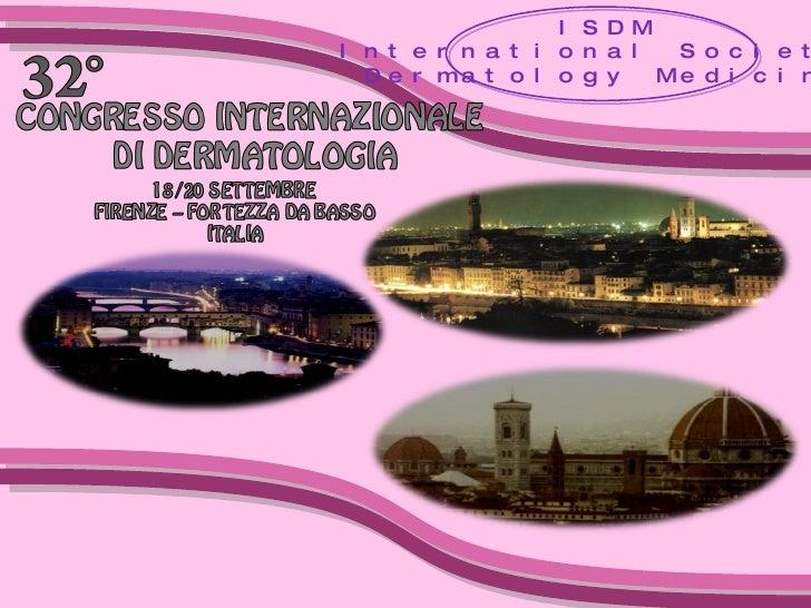 ISDM International Society  Dermatology Medicine