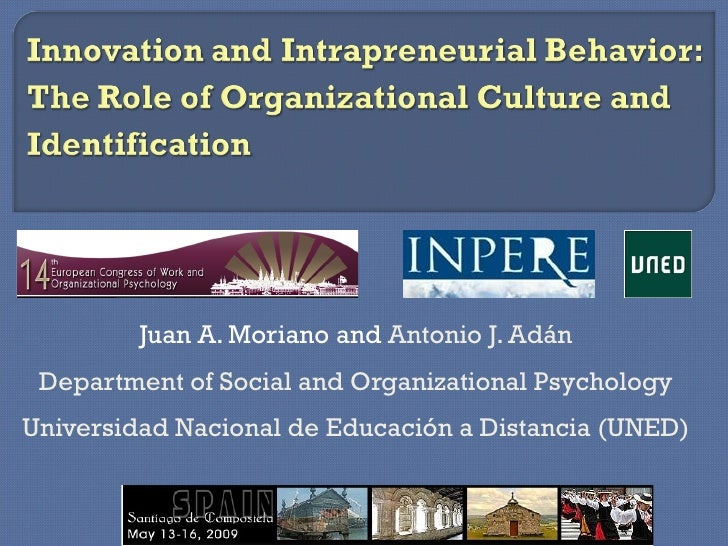 Juan A. Moriano and  Antonio J. Adán Department of Social and Organizational Psychology Universidad Nacional de Educación ...