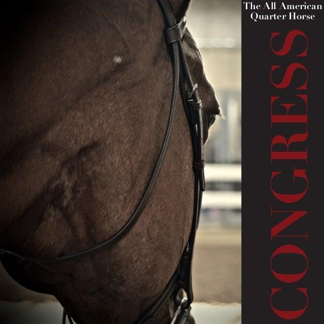 CONGRESS The All American Quarter Horse