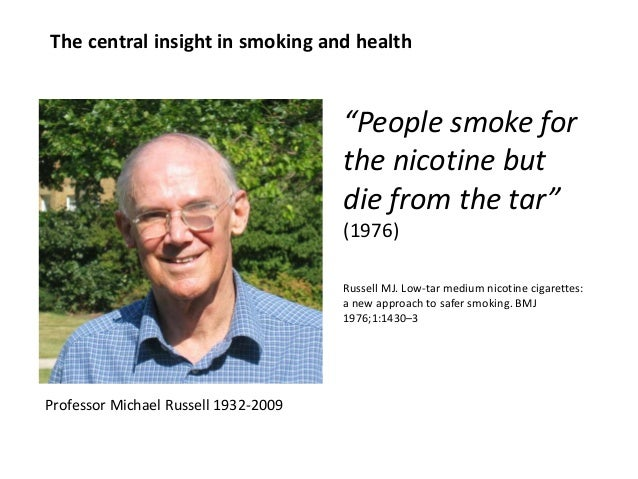 Tobacco harm reduction - meetings with Hill staff  Slide 3