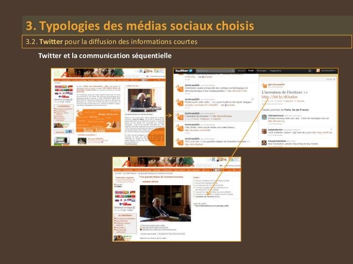 3. Typologies des médias sociaux choisis3.2. Twitter pour la diffusion des informations courtes    Twitter et la communica...