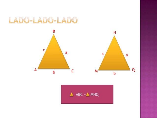 Dos  triángulos son semejantes si tienen al menos dos ángulos respectivamente de igual medida. F  B  x  y  E x  G  y C  ...