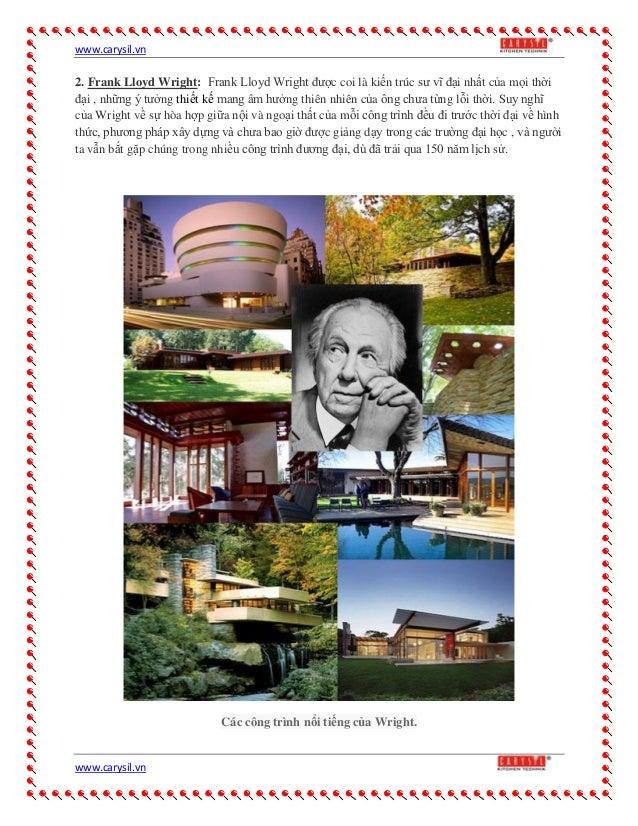 Công trình của  kiến trúc sư nổi tiếng nhất thế giới Slide 2