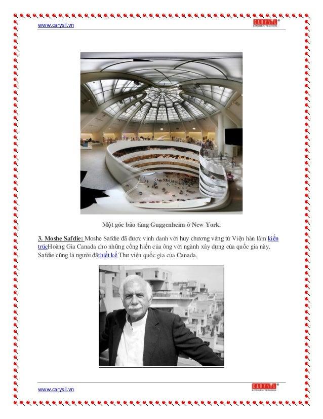Công trình của  kiến trúc sư nổi tiếng nhất thế giới Slide 3