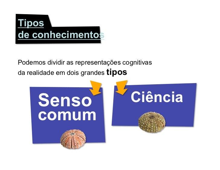 Senso Comum e Ciência Slide 3