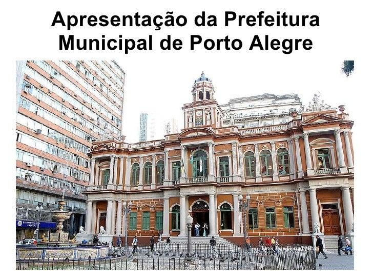 Apresentação da Prefeitura Municipal de Porto Alegre Foto: João Fiorin/PMPA