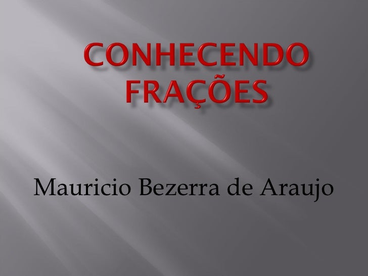 Mauricio Bezerra de Araujo