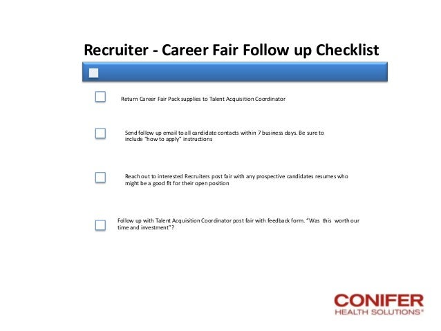 conifer health career fair a practical guide