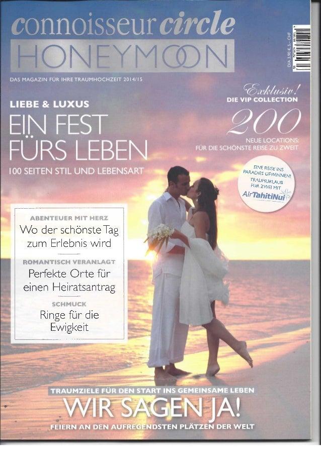 Conisseur Circle Honeymoon Special - June - Austria - DIN