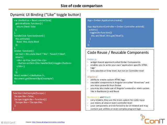 how to choose a javascript framework