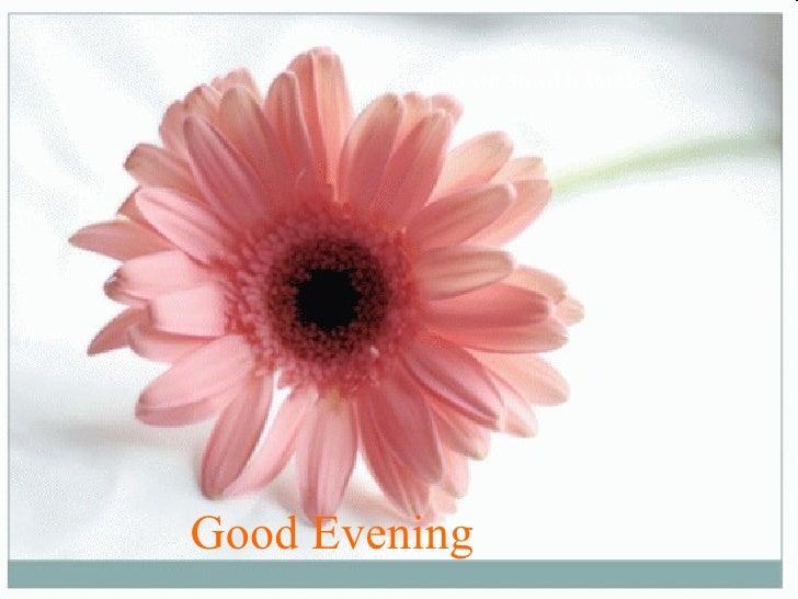 Good Evening   JAI SHREE GANESHAH NAMAH