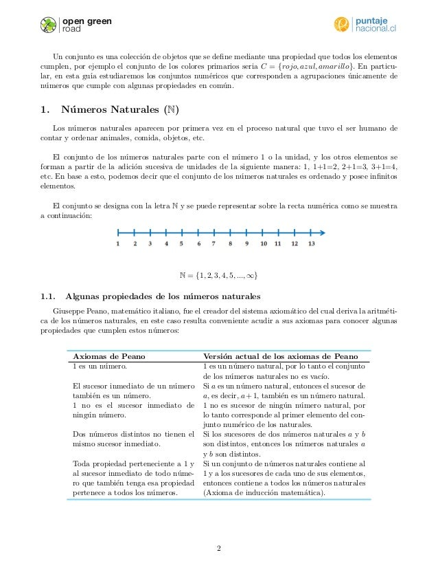 Conjuntos numericos Slide 2