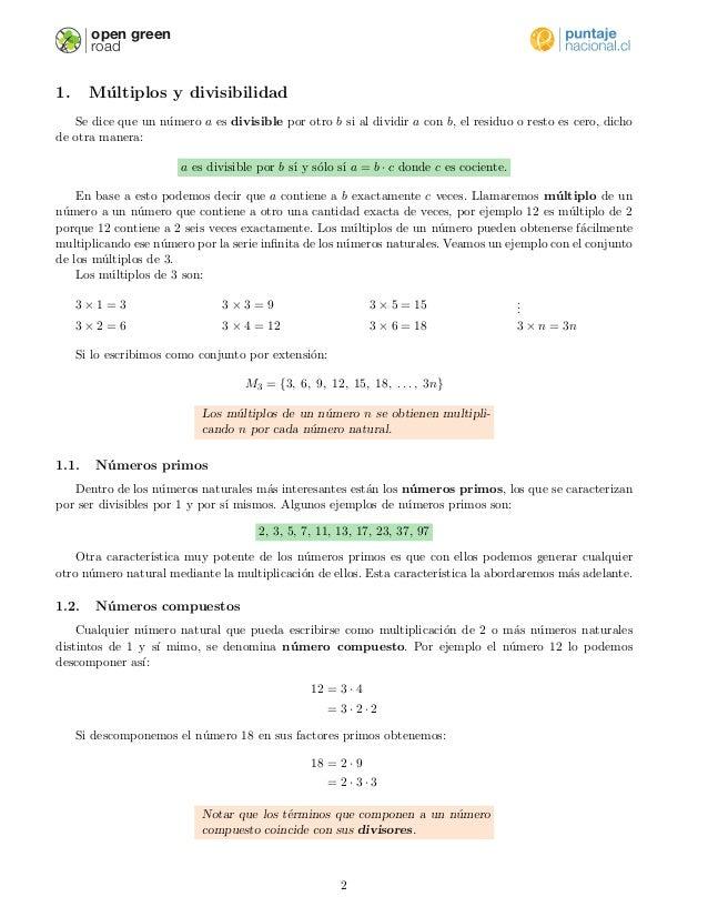 Conjuntos y divisores Slide 2