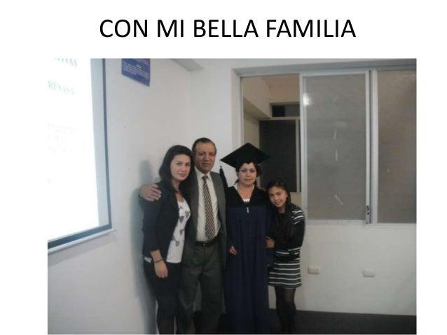 CON MI BELLA FAMILIA