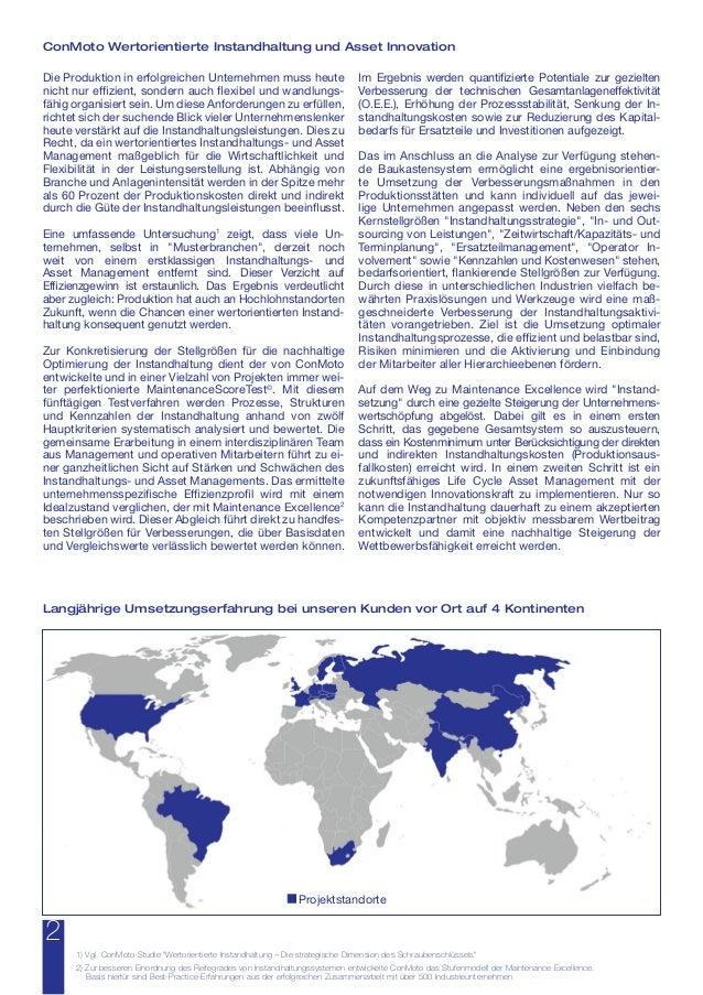 Wertorientierte Instandhaltung - Steigerung der O.E.E. und Kosteneffizienz  Slide 2
