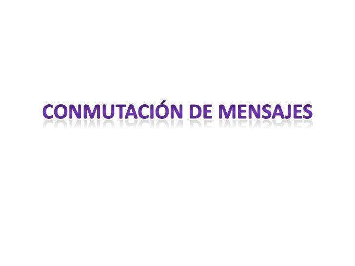 Elementos de la Conmutación de Circuitos<br />TELECOMUNICACIONES<br />22 de agosto de 2011<br />29<br />