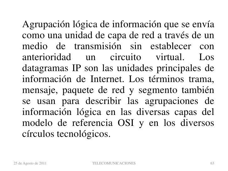 Topología en anillo<br />22 de agosto de 2011<br />TELECOMUNICACIONES<br />47<br />