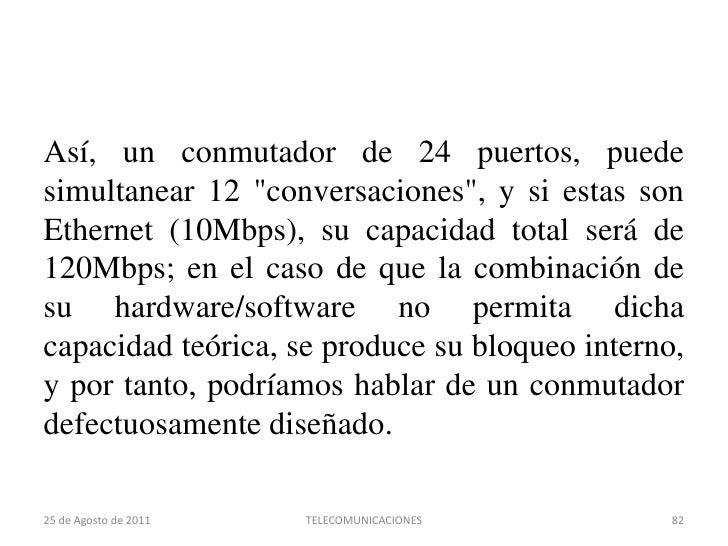 Primitivas del servicio de Datagramas<br />22 de agosto de 2011<br />TELECOMUNICACIONES<br />66<br />