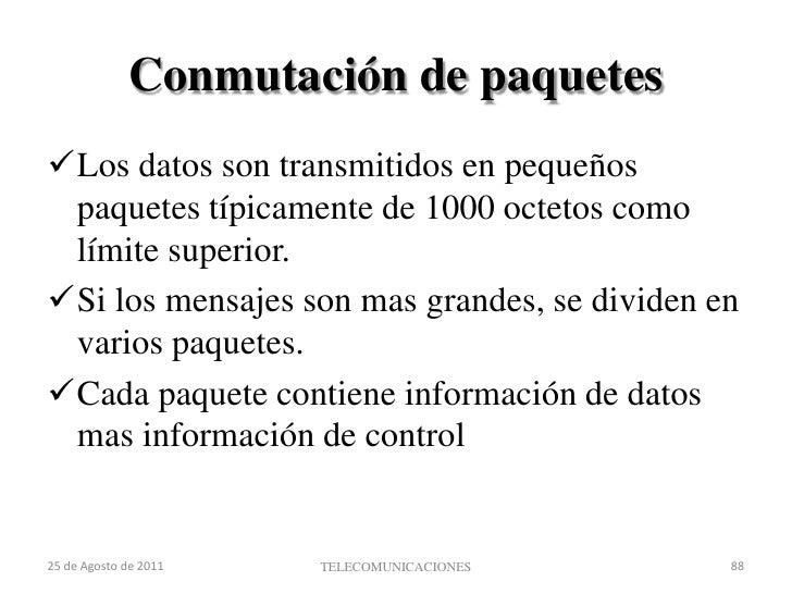 Comparación Datagramas - Circuitos Virtuales<br />Circuitos Virtuales:<br />La red proporciona secuenciamiento y control d...