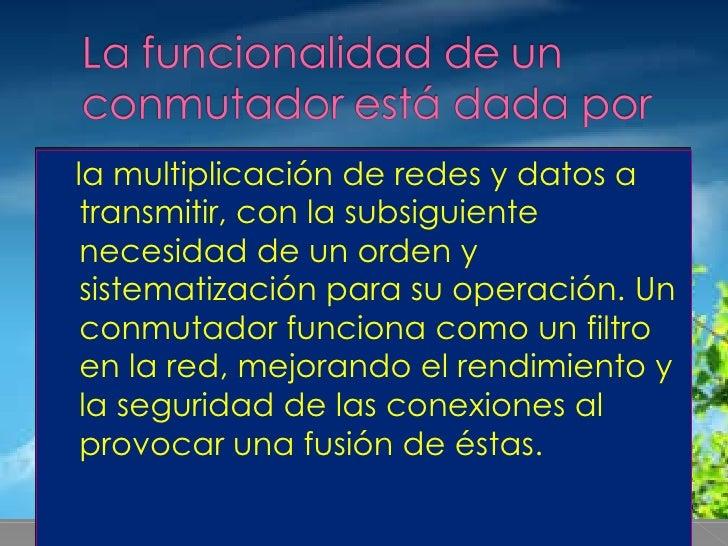 <ul><li>la multiplicación de redes y datos a transmitir, con la subsiguiente necesidad de un orden y sistematización para ...