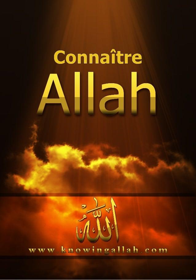 Contents Qui est Allah? Qui est Allah? Soliman Ashkar .......................................................... Dieu a t-...
