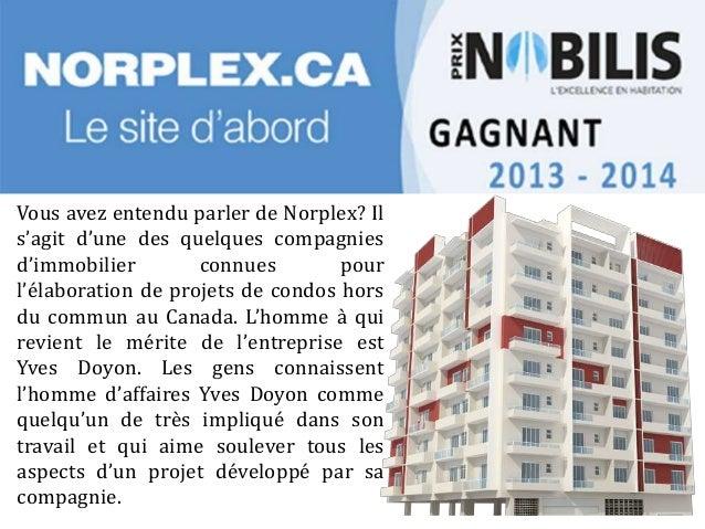 Connaitre Yves Doyon – L'homme d'affaires Slide 2