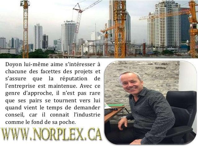Connaitre Yves Doyon – L'homme d'affaires
