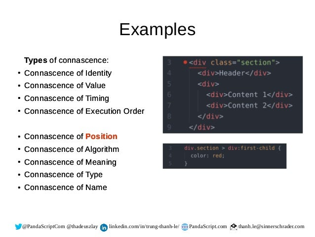 Connascence - How to detect code smell
