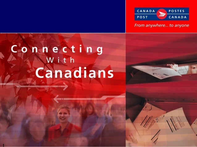 Agenda Canada and Canadians The Business Environment Canadian Direct Marketing Facts Canada Post Corporation