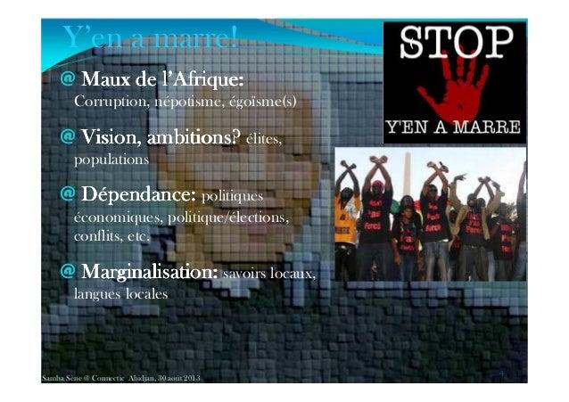 @ Maux de l'Afrique:Maux de l'Afrique:Maux de l'Afrique:Maux de l'Afrique: Corruption, népotisme, égoïsme(s) @ Vision, amb...