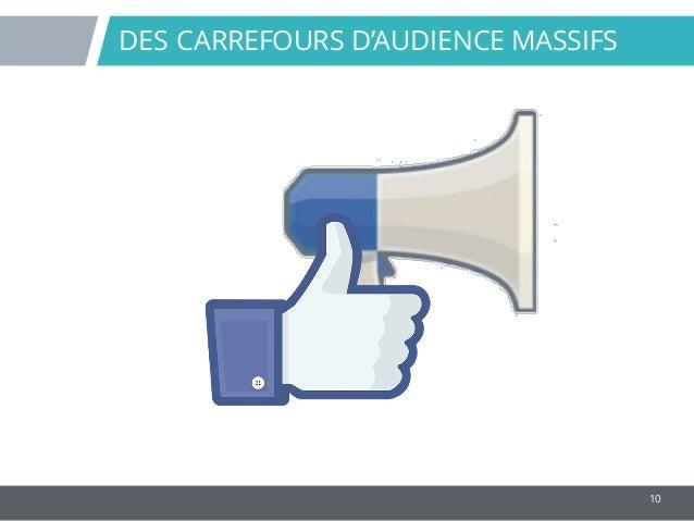 10 DES CARREFOURS D'AUDIENCE MASSIFS