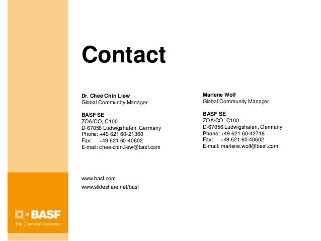 connect BASF - the Online Business Network
