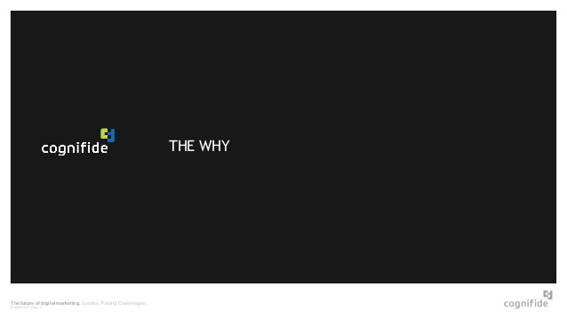 The future of digital marketing. London, Poland, Copenhagen. © 24/06/2015 Page 13 THE WHY