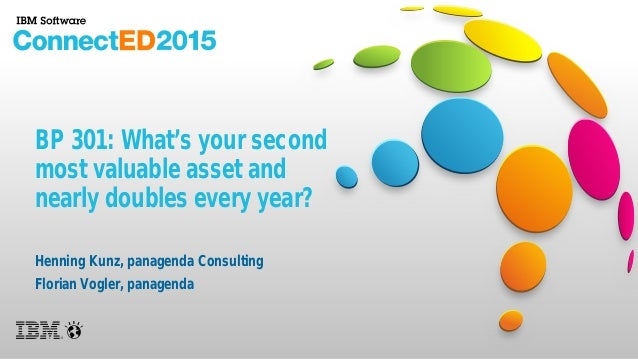 BP 301: What's your second most valuable asset and nearly doubles every year? Henning Kunz, panagenda Consulting Florian V...