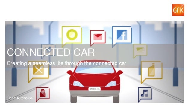 1© GfK 2015 | Connected Cars Study | 2015 CONNECTED CAR Creating a seamless life through the connected car Global Automoti...