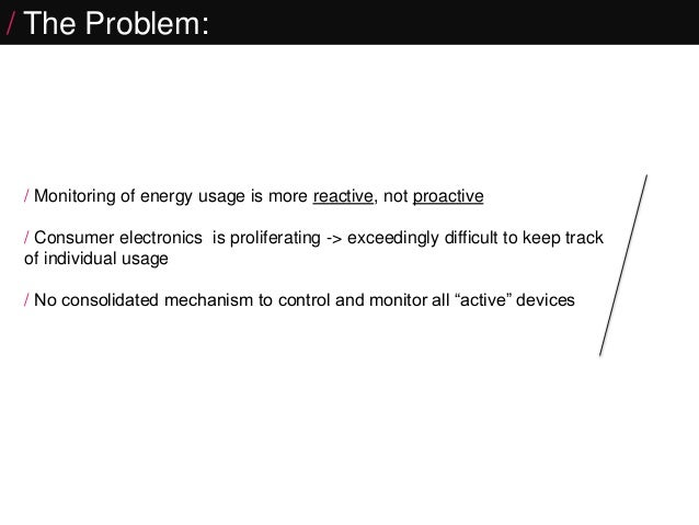 Connected Home- HomeBrain   Internet of Things project Slide 2
