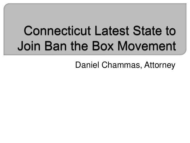 Daniel Chammas, Attorney