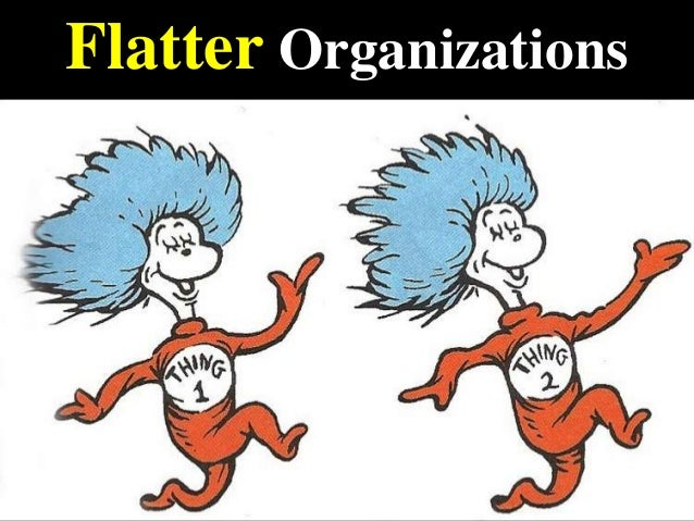 Flatter Organizations