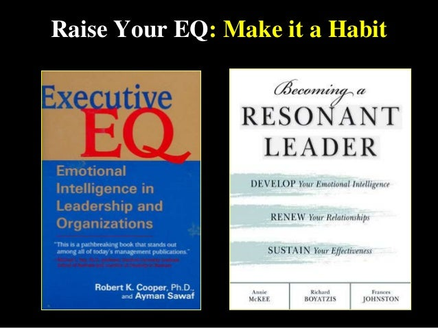 Raise Your EQ: Make it a Habit