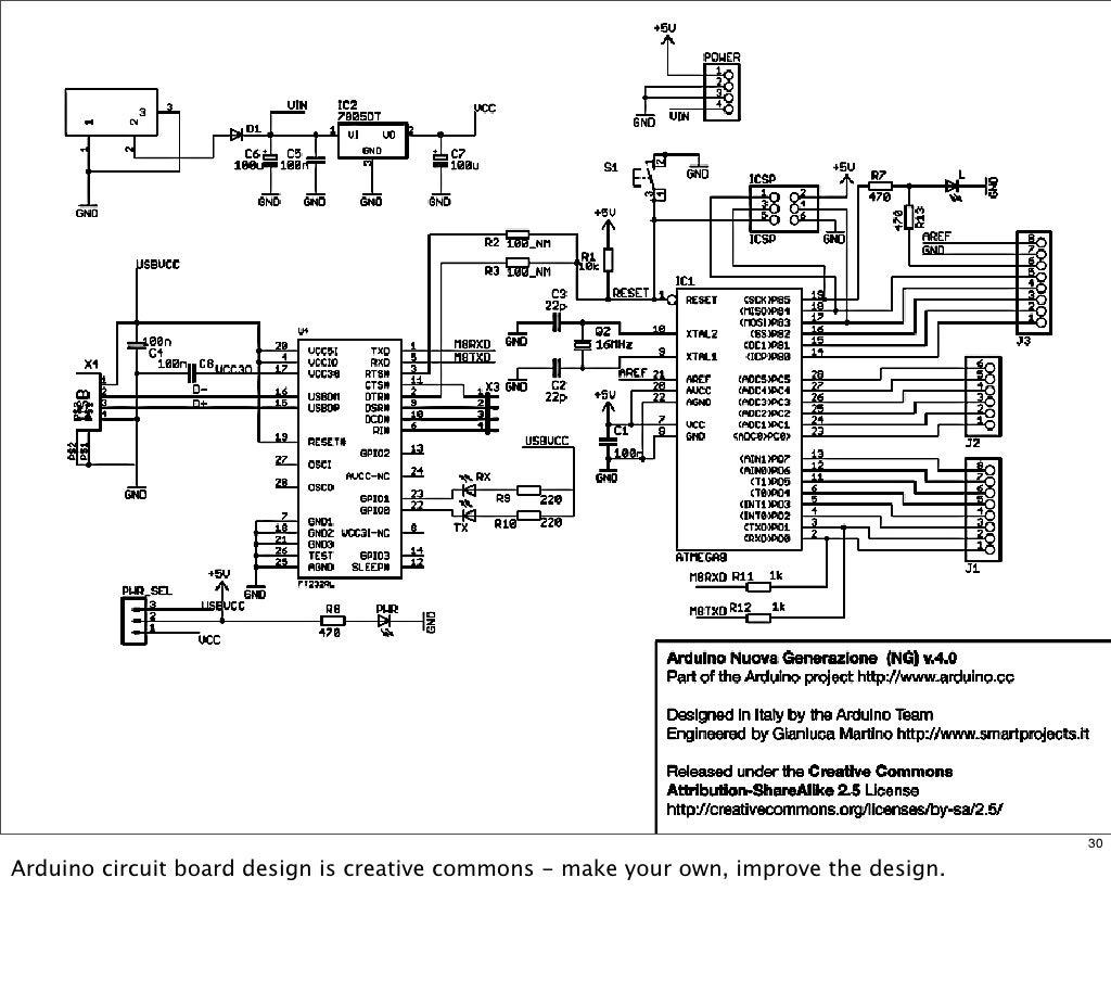 30 arduino circuit board design