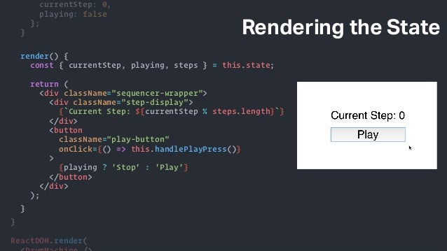 Sequencing Audio Using React and the Web Audio API