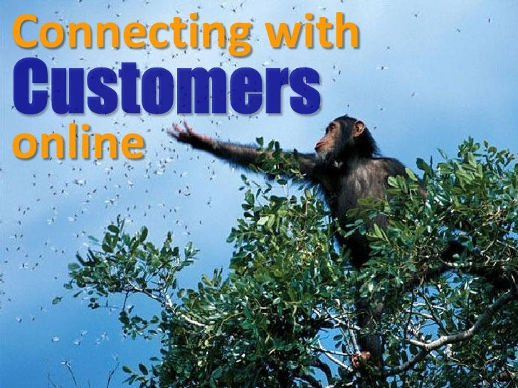 Connecting with  online                      1