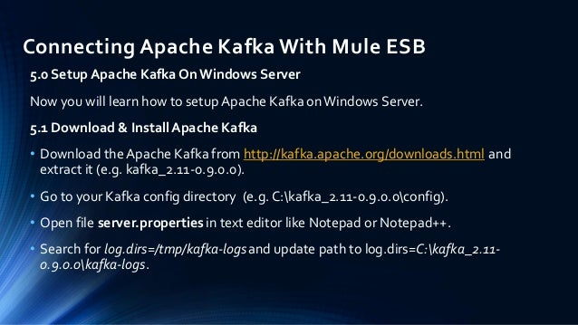 Connecting Apache Kafka With Mule ESB