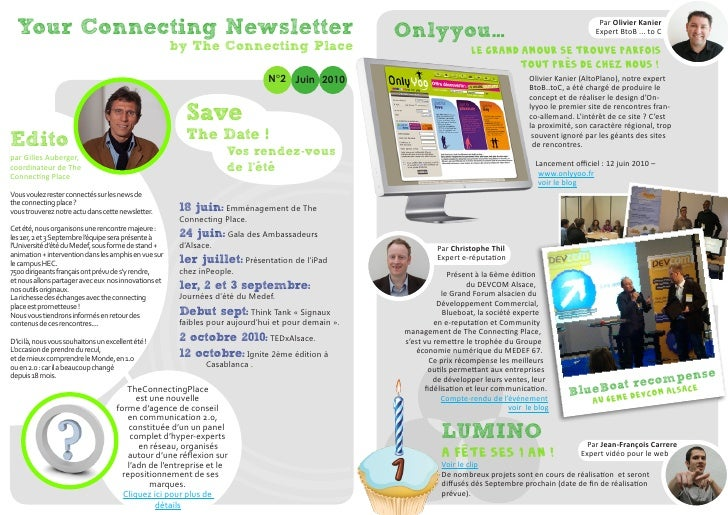 Your Connecting Newsletter                                                                        Onlyyou…                ...