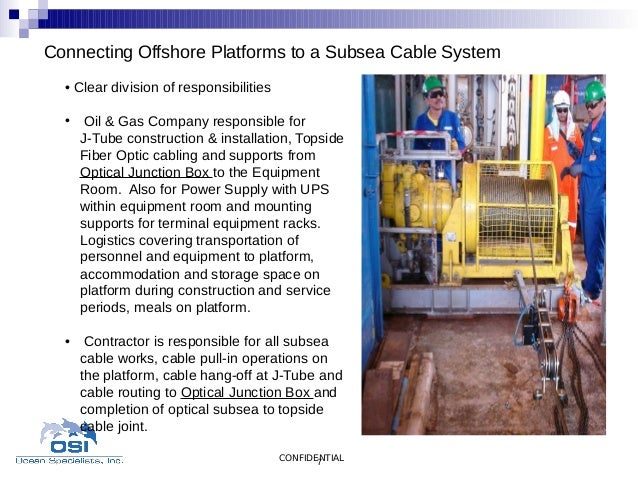Connecting Offshore Platforms To A Subsea Cable System